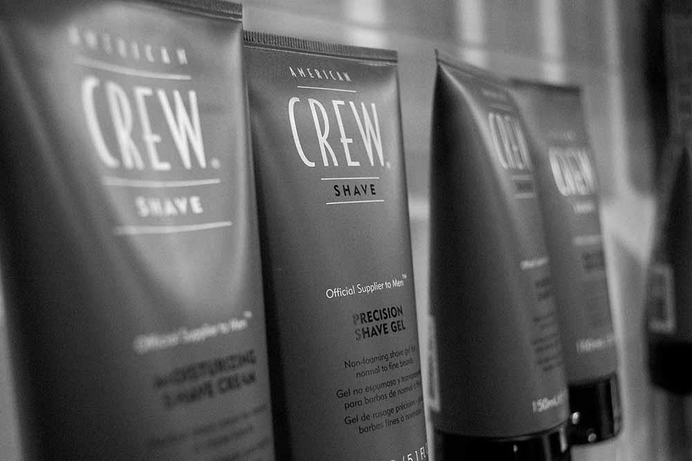 American Crew shaving gels