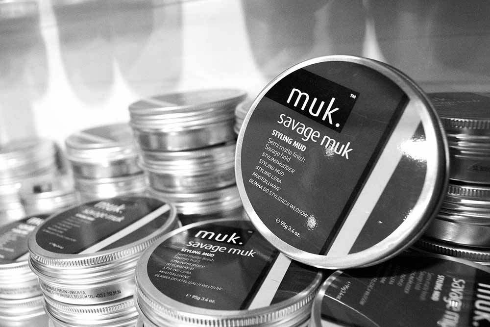 Muk hair styling products at North For Men, Guiseley