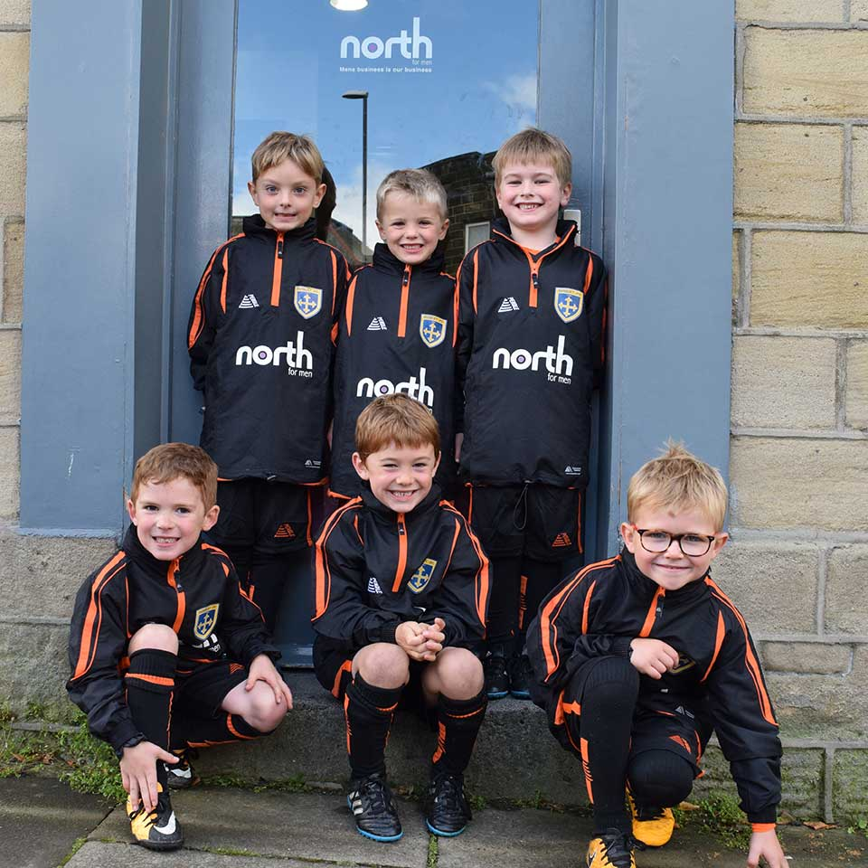 Guiseley Juniors Football Club visit North For Men